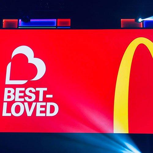 McDonalds corporate event