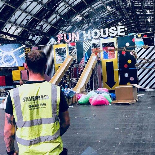 Corporate Crew Fun house