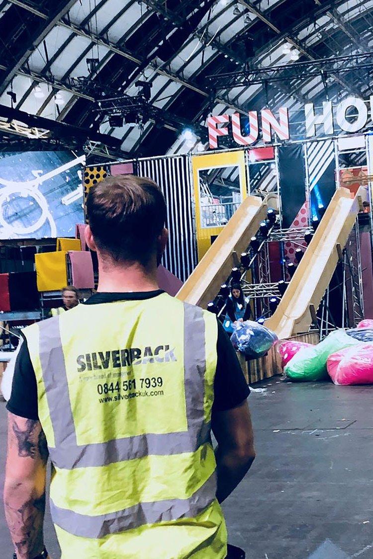 Silverback crew corporate fun house