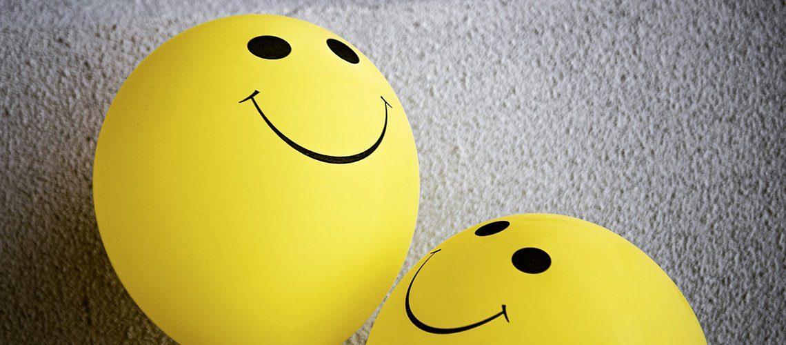 Stress Matters happy balloons